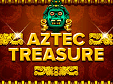 Автоматы Aztec Treasure в клубе Вулкан