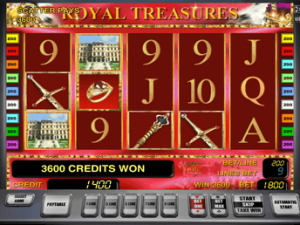 Игровые автоматы Royal Treasures от Вулкан
